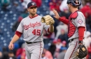 Blake Treinen's once promising Washington Nationals career ends on a sour note