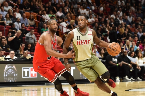 Dion Waiters is going all in on recruiting Wade to Miami on social media
