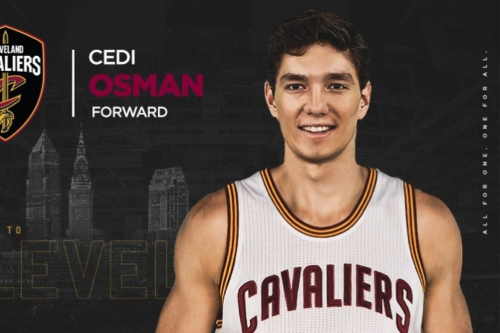 Cavaliers officially announce Cedi Osman signing