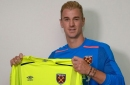 Joe Hart is finally a West Ham player and their announcement is a bit cheesy!