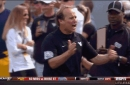 West Virginia head coach Dana Holgorsen will have to control his outbursts during the 2017 season or face ejection
