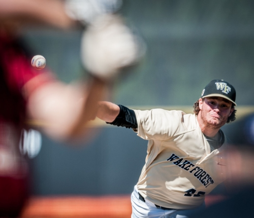 Wake Forest's Griffin Roberts making smooth transition from bullpen to starting rotation