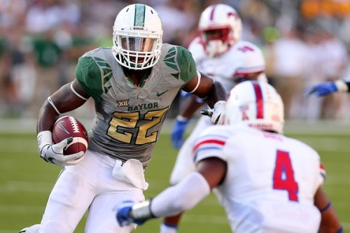 Baylor star tailback expected to miss chunk of September schedule