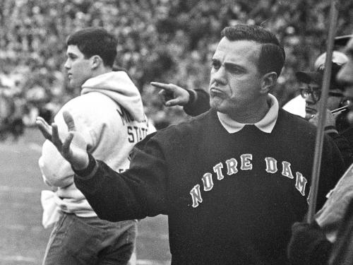 Report: Legendary Notre Dame coach Ara Parseghian ailing