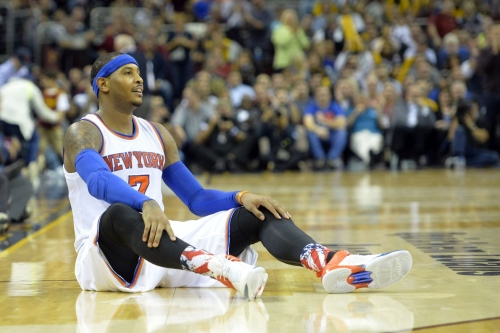 Let's make a Carmelo Anthony trade, part 1