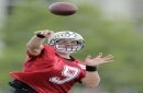 Watch Drew Brees, Michael Thomas work out together