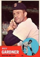 Ex-Sox IF Billy Gardner Turns Ninety Years Old Today