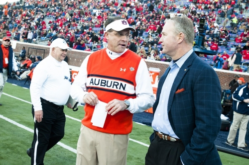 Auburn's AD on scheduling Notre Dame: 'We're continuing to work on that'