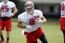 Cameron Brate spent a ridiculous amount of time in the slot