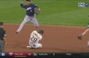 WATCH: Brewers' Arcia makes two acrobatic plays at shortstop
