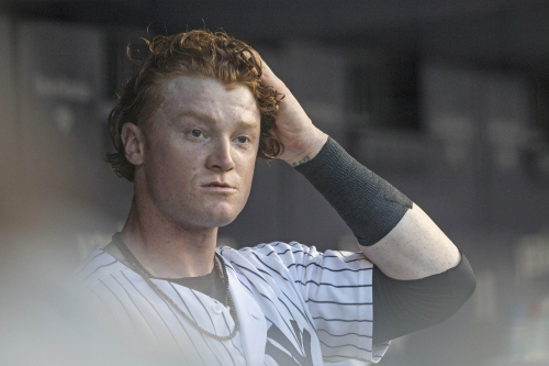 Clint Frazier curiously picks No. 77 in trade fallout
