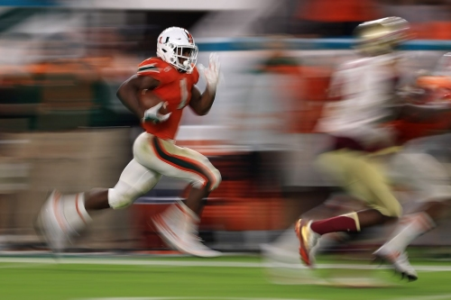 Miami Hurricanes Football: RB Mark Walton named to Doak Walker Award watch list