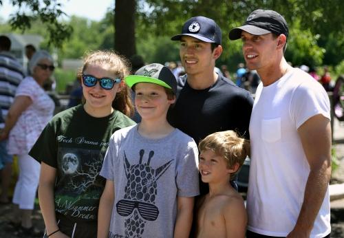 Wild reunion fulfills lifelong dream for best friends Jared Spurgeon, Tyler Ennis