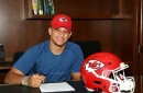KC Chiefs QB Patrick Mahomes is signed, sealed and delivered