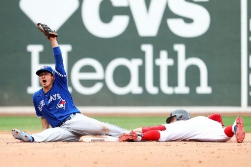 Bullpen and bats help Jays rally to beat Boston