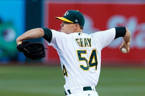 Yanks prospects being scouted by A's who could trade Gray, Alonso