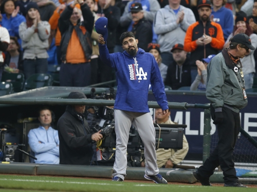 Could the Giants bring back Sergio Romo, too?