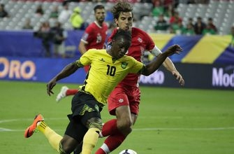 Jamaica scores early, holds off Canada 2-1 in Gold Cup