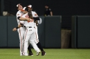 Orioles complete sweep of Rangers with 9-7 victory