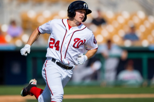 For Nationals prospect Andrew Stevenson, uncertainty is a part of life in Triple-A
