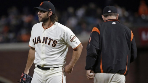 Homers Hurt Bumgarner as Giants Lose to Padres