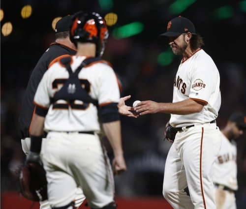 Giants encouraged by Madison Bumgarner, but remain winless in his starts