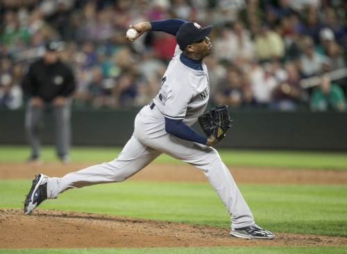 Aroldis Chapman shaky again as Yankees closer tries to right ship