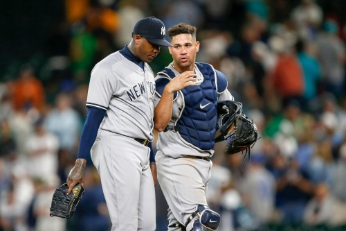 Yankees' Aroldis Chapman admits he's off, but feels he's getting closer to form