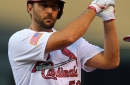 Adam Wainwright sits on the Iron Throne - A Hunt and Peck