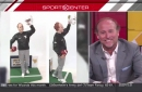 Dana Holgorsen Stopped By SportsCenter And Put The Creepy Dana Action Figure On Notice