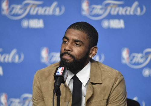 Spurs, Heat, Timberolves and Knicks early favorites for Kyrie Irving
