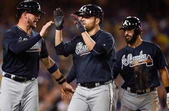 Subject of trade talk, Jaime Garcia smacks Braves' first grand slam by pitcher since 1966