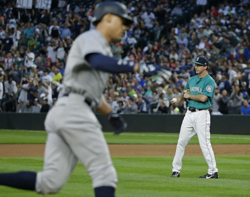 Aaron Judge nearly hits ball out of Safeco Field in Yankees' 5-1 win | Rapid reaction