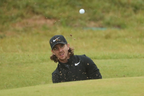 Evertonian Tommy Fleetwood just makes the cut at The Open