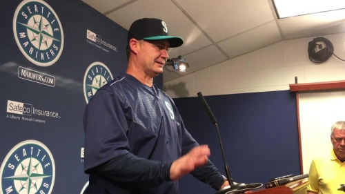 Mariners manager Scott Servais: 'Bad pitch in a bad spot and a bad result'