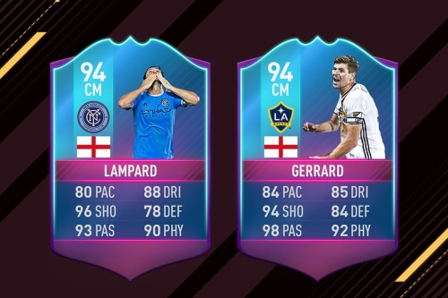 Lampard, Gerrard honored with FIFA 17 'End of an Era' cards