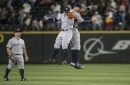 Aaron Judge's teammates react to moonshot at Safeco Field