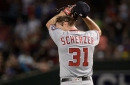 Max Scherzer gets punched in the face by back-to-back-to-back homers in D-Backs' first...