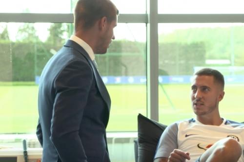 WATCH: Morata's first day at Chelsea; plus Hazard judges Michy, Cesc, Kenedy skills
