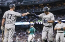 WATCH: Yankees' Aaron Judge homer almost clears upper deck at Safeco Field