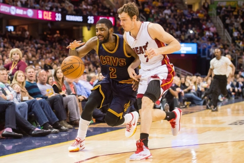How does Kyrie Irving fit in with the Heat?