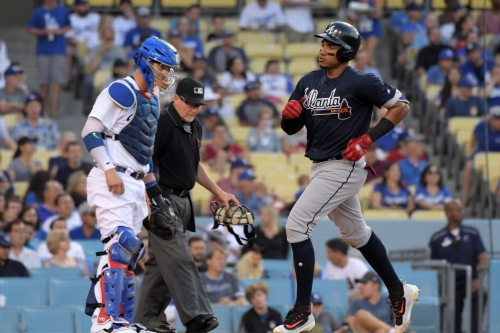 Series win over Dodgers in Braves' sights