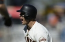 Hundley's single lifts Giants past Padres 5-4 in 12 (Jul 22, 2017)