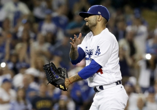 Dodgers trade Sergio Romo to Tampa Bay for cash or player to be named