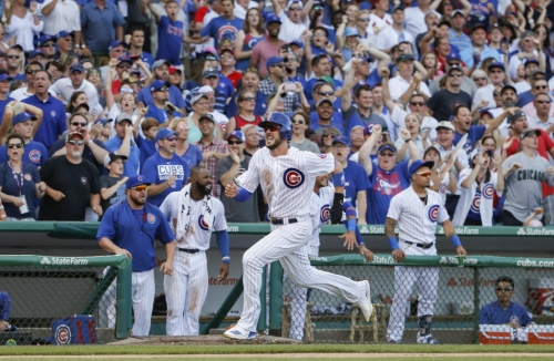 Kris Bryant returns, sparks Cubs' rally past Cardinals