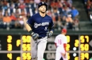 Braun drives in 4 runs, leads Brewers to 9-8 win over Phillies