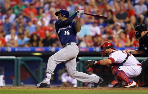 Brewers 9, Phillies 8: Santana, Braun help stop skid