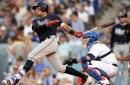 WATCH: Braves' Johan Camargo doubles twice vs. Dodgers