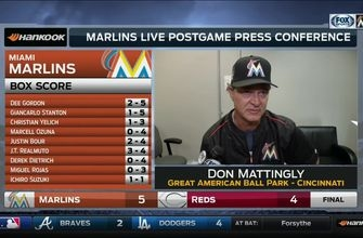 Don Mattingly commends defense for keeping Marlins in the game