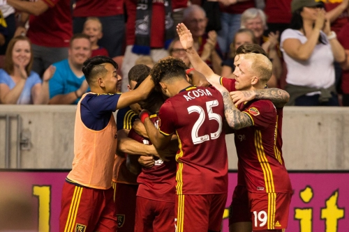RSL, in third game in a week, draws 1-1 with Sporting KC